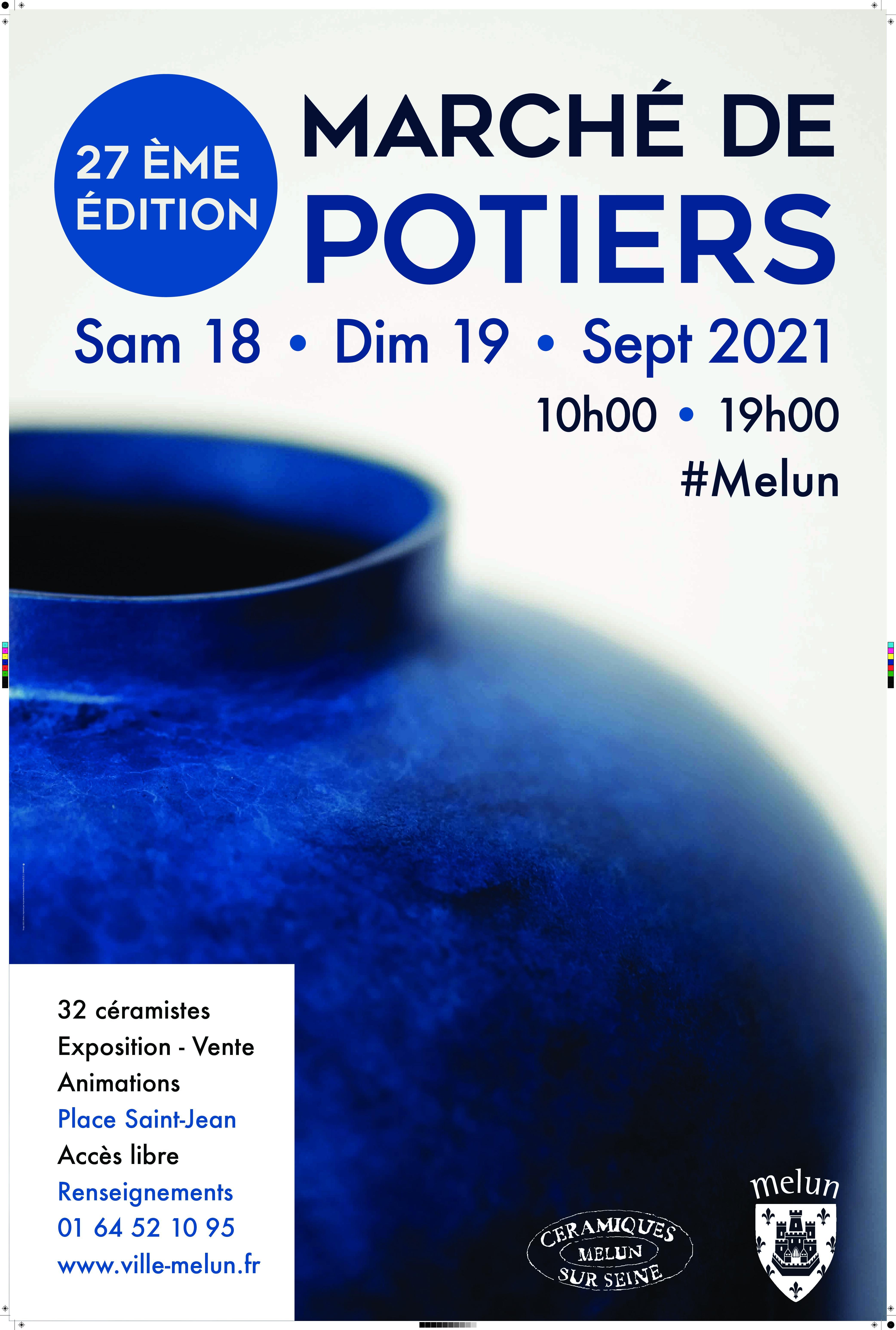 Marché de Potiers – Melun (77)